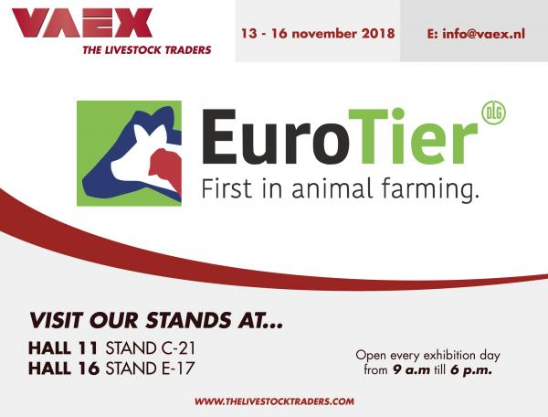 Visit us at EuroTier 2018!
